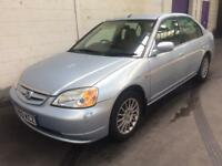HONDA CIVIC 1.3SE EXECUTIVE IMA 2003 03 REG + MOT OCT 2017 +