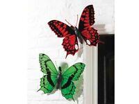 Outdoor Butterfly Wall Art