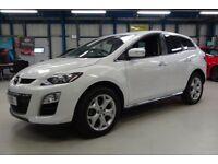 Mazda CX-7 D SPORT TECH [SAT NAV / LEATHER] (pure white) 2011