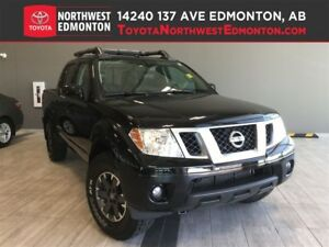 2015 Nissan Frontier PRO-4X w Luxury Package | Nav | Heat Leathe