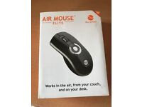 Brand New Gyration Air Mouse Elite Wireless Mouse for In-Air/Desk Use