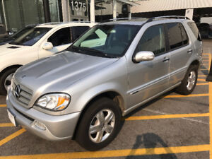 2005 Mercedes-Benz M-Class ML350 3.7L Special Edition SUV