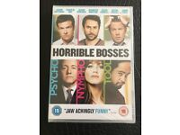 Horrible Bosses DVD unopened and in wrapping