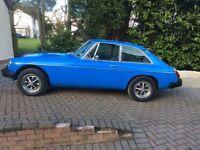 Mgb gt Classic car