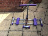 Leg Master exercise machine - toning and firming