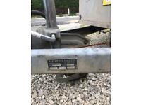 Traffic Light Trailer Roller Quad mower drop down tailgate gardener galvanised