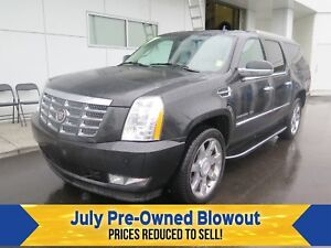 2011 Cadillac Escalade ESV Nav. Moonroof.