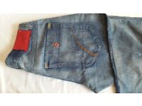 Jeans ZJ 1975 reg. (4 Loose Fit Straight, Low Waist, button Fly)