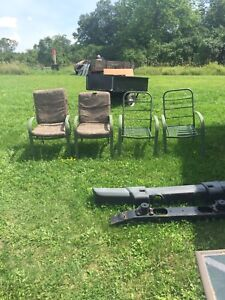 Used patio tables and chairs