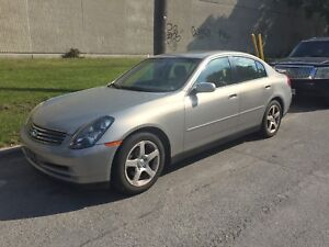 2004 G35 Low KMS