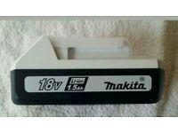Makita BL1815G Lithium-ion Battery, 18 Volt, 1.5 Ah, Guaranteed 100% Genuine