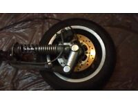 Vespa GTS 300 Parts... forks brake headlight speedo wheel panel lever liquid cooling air filter