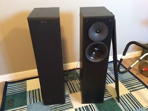 Price reduced!!  Nuance Advantage Premiere tower speakers