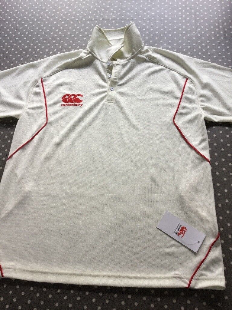 Brand new with tag Canterbury Cricket Shirt