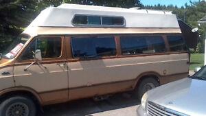 FS: 1979 Dodge Funcraft Camper van