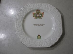 Plate..Commemorating opening of the seaway