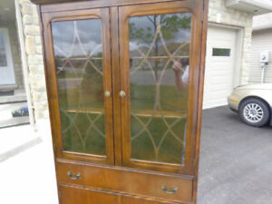 LOOK!!! MUST GO!! Antique Corner Cupboard Cabinet!!