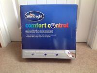 Silent night king size comfort control electric blanket