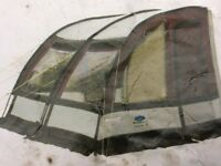 Lightweight Ultimate 260 awning.