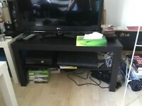IKEA Lack TV Unit / TV Stand / Coffee Table, Black-Brown