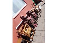 Free pub tables and chairs