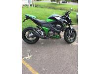 Kawasaki z800e 2014 only 4668 miles