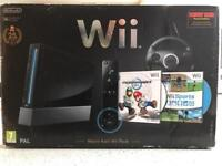 Nintendo Wii Mario Kart Complete Package With Many Games