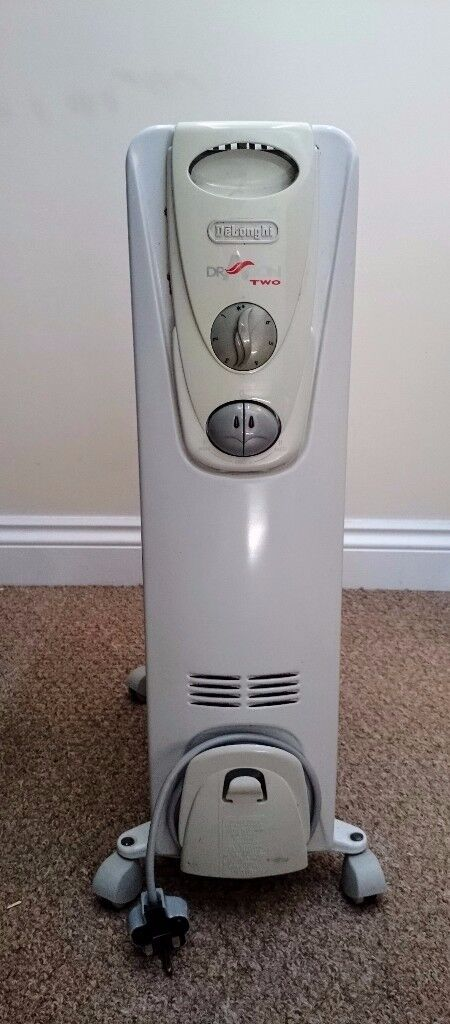 OIL HEATER - DeLonghi Dragon Two oil filled heater - RRP £50