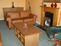 Spacious, well decorated two-bed and two-bath, central apartment with good transport links nearby