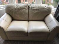 Cream Sofa needs collected ASAP £50 ono