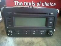 vw golf mk5 cd audio player for sale call parts