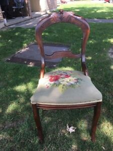 Victorian ladies chair