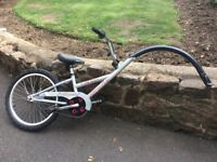 Child's tow trailer bike. Allycat Instant Tandem. Good condition.