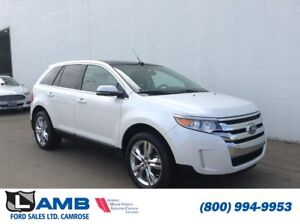 2014 Ford Edge Limited 301A AWD Moonroof Navigation Power Liftga