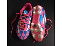 Adidas Football Boots Kid's Size UK 11.5K