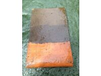 """Clay Roof Tile 10"""" x 6"""" ( approx 400 available )"""