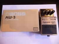 Roland Boss AW3 Dynamic Wah Guitar Effects Pedal