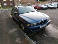 BMW 520I 2.2CC 2002 YEAR NEW MOT 170BHP