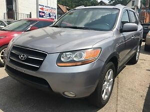 2008 HYUNDAI SANTA FE LIMITED AWD FULLY LOADED WITH LEATER!