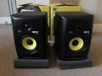KRK Rokit 5 G2 studio monitors pair