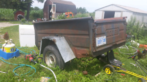Dodge Trailer for sale. Will sell box separate.