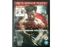 WOLVERINE + X-MEN ORIGINS : WOLVERINE BLURAY