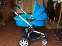Quinny Buzz pushchair/carrycot