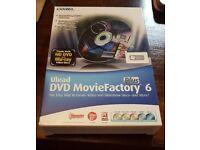 Ulead Corel DVD Movie Factory 6 Plus software