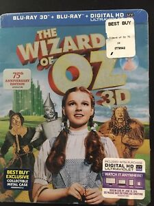 The Wizard of Oz Brand New 3D Blu-Ray