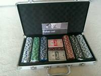 Poker playing set