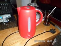 Red tescos cordless kettle for sale