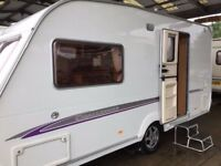 Swift challenger Touring Caravan 470 Motor movers ,Awning . Excellent condition 2 Berth, Bathroom