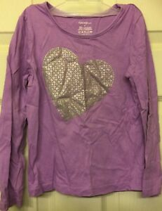 Toddler Girl George Cotton Long Sleeve Tee Sz 5