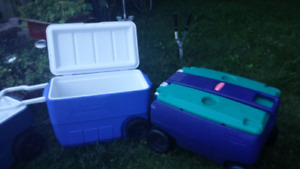 Various Coolers.Excellent condition